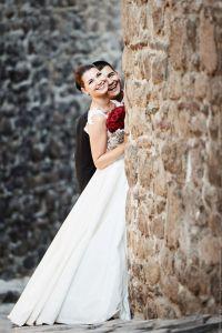 Сватбена сесия в стария Пловдив