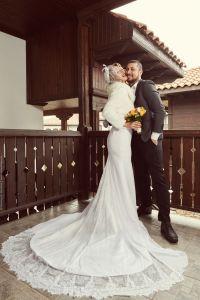 Сватбена рокля на Светла