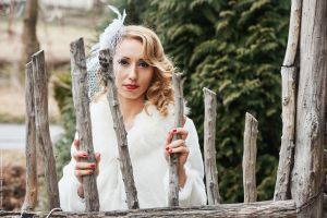 Светлана, сватбена фотография
