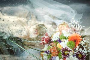 Романтичен портрет на булката